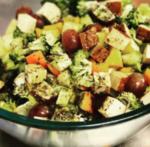 farbiger salat